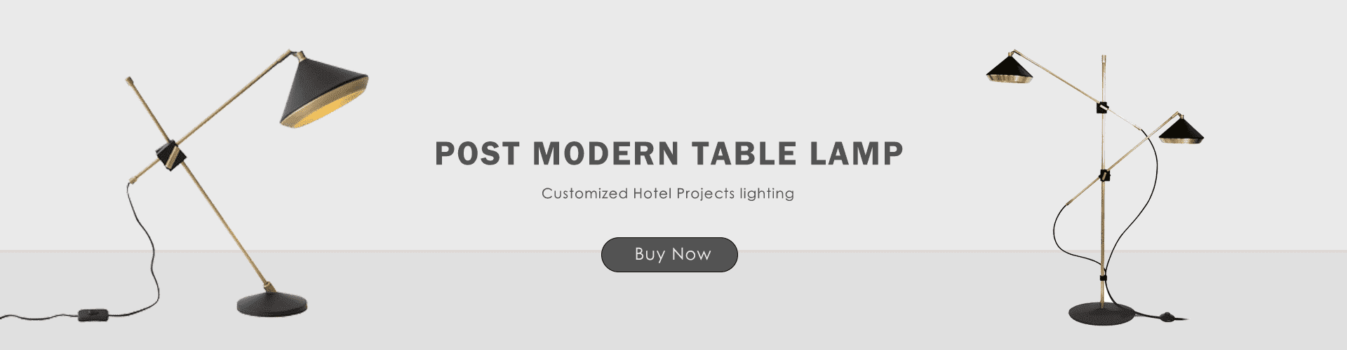 hotel projects table lamp