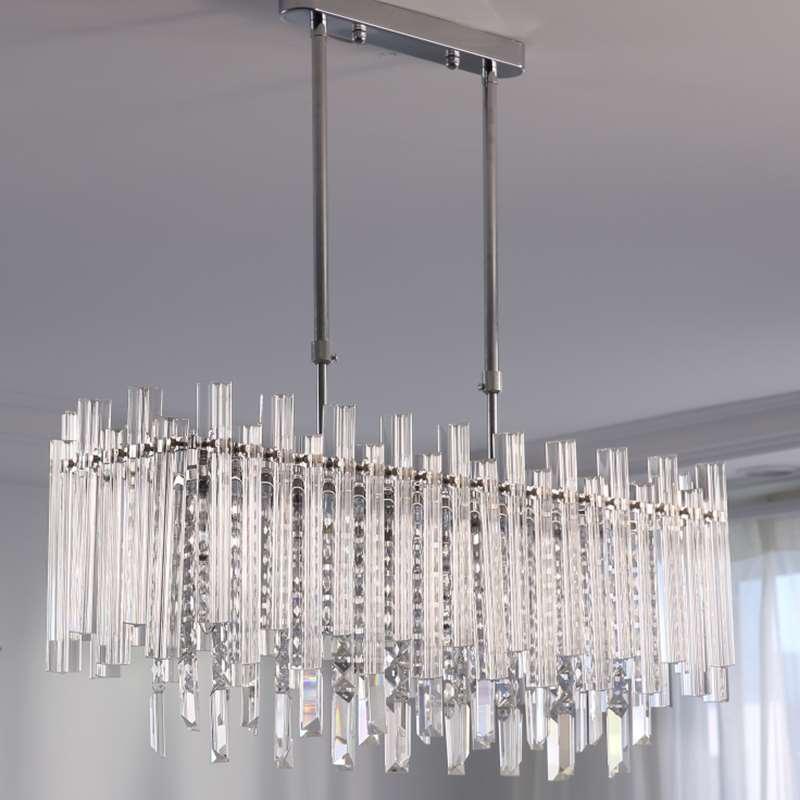 Modern Latest Design Hotel Decorative, Hybris 8 Light Crystal Chandelier