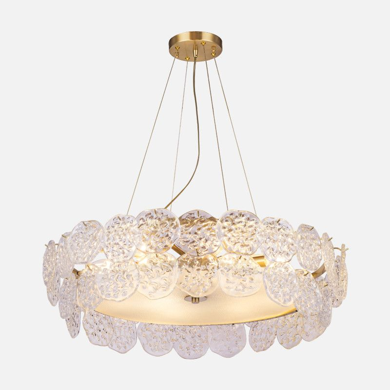 Clear Crystal Gold Hardware Lighting