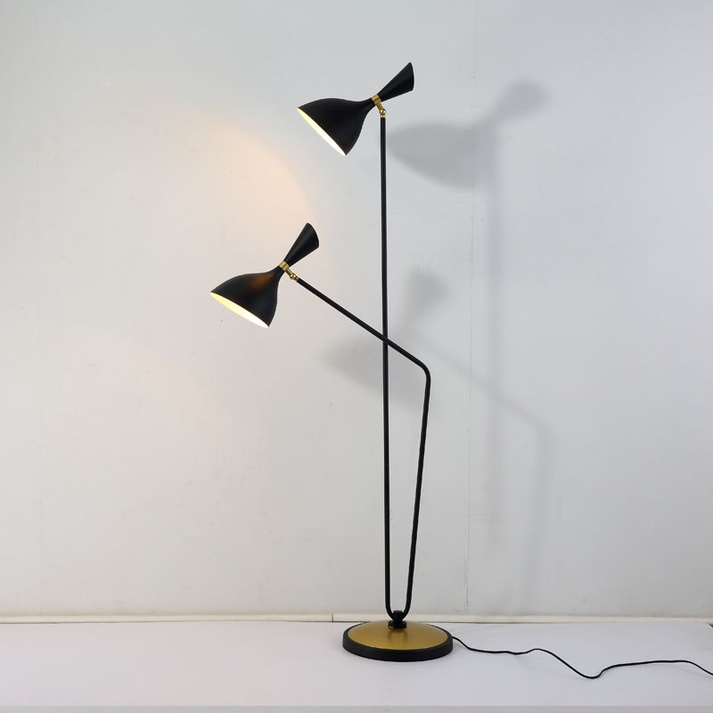 Modern Decoration Simple Black Iron