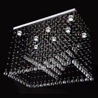 High end luxury handmade hanging lamp cutting K9 crystal