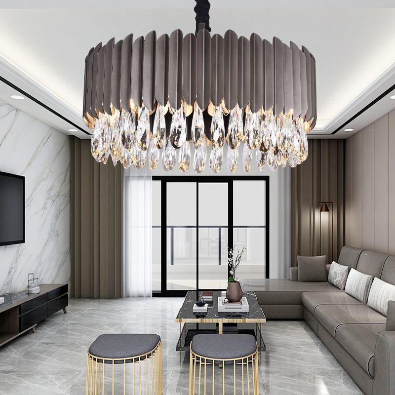 Postmodern Crystal Chandelier Light