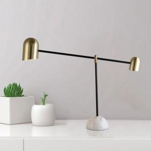 Modern Creative Marble Base Living Room Desk Lamp ...