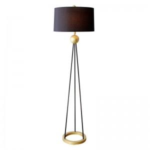 American floor lamp Living room vertical desk lamp...